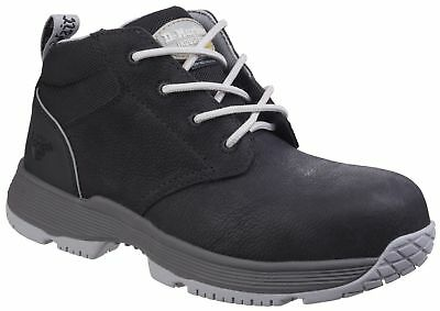 DR MARTENS Westfall black ladies S1P safety DM boot with midsole size 3-8