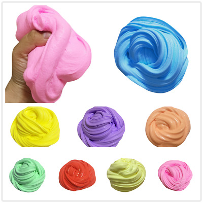 50g/100g Fluffy Floam Slime Scented Stress Relief No Borax Kids Toy Sludge Toy