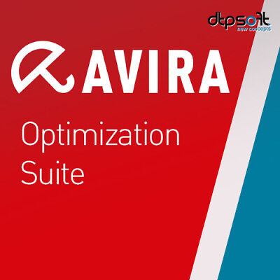 Avira Optimization Suite 1 PC 2020 Internet Security Suite 1 GERÄT 2019 DE