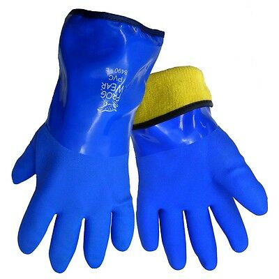 Global Glove 8490 FrogWear® Insulated, Waterproof, Flexible PVC Gloves (1 Pair)