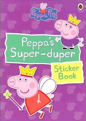 Peppa Pig, Peppa's Super-Duper Sticker Book Ladybird Books Children's Kids Gift