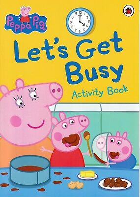 Peppa Pig, Let's Get Busy Activity Book. Ladybird Books Children's Kids Gift