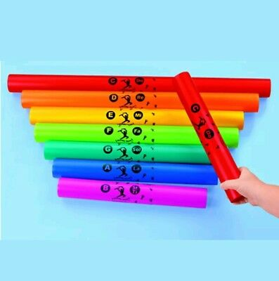 1+2a  Boomwhackers 'Boomophone' C Major Diatonic Set of 8 Musical Tubes