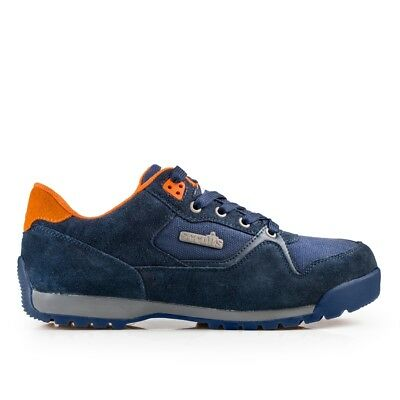 Scruffs Halo 2 Safety Shoes | Trainers | Steel Toe Cap | Navy Blue | SBP |