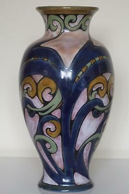 Royal Doulton Lambeth Vase - Art Nouveau Design - Mark V.Marshall - c.1907