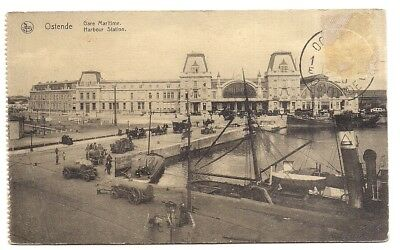 ostende , gare maritime  , harbour station