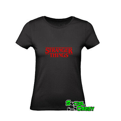 T shirt DONNA - STRANGER THINGS serie tv