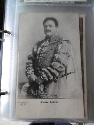 Caruso - costumed role - undivided back