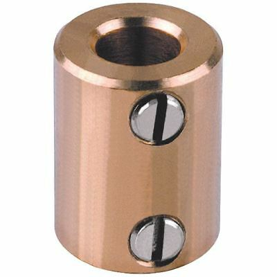 Mentor 720.64 Brass Shaft Coupling - Inside Diameter 6mm One End 4mm The Other