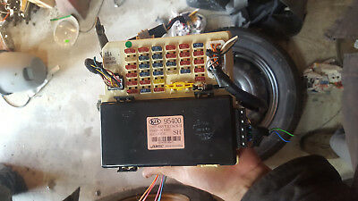 2001-2006 Kia Optima Oem Cabin Interior Fuse Relay Under Inner Dash Box Block