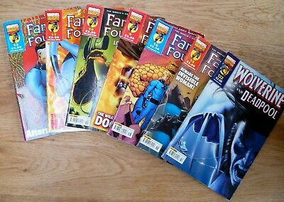 FANTASTIC FOUR ADVENTURES Marvel Comic Bundle of 6 Magazine 2006