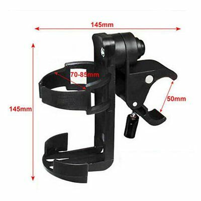 Universal Cup Bottle Drink Holder Wheelchair Stroller Pram Pushchair Bicycle #
