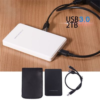 External Drive USB 3.0/2.0 SSD HDD Enclosure 2.5 Inch Hard Disk Case