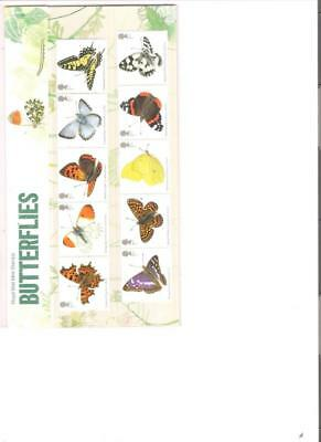 2013  Royal Mail Presentation Pack Butterflies Pack 487