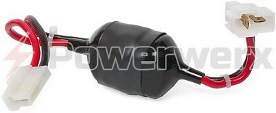 Powerwerx LF-1-OEM DC Line Noise Filter (20 Amps max) with OEM-T In-Line Conn.