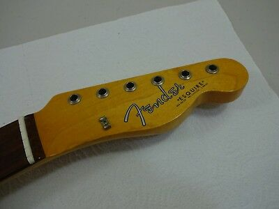 1966 Fender Esquire Telecaster Neck Nice ! Original Finish          Guitar Parts