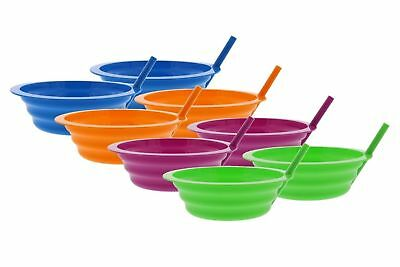 Cereal Bowl Sip Ice Cream 4 PACK Arrow Sip-A-Bowl 22 oz Colors May Vary