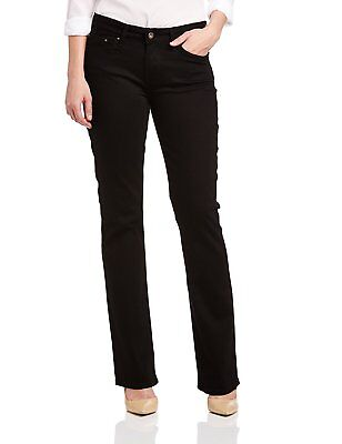 Levi's Women's Demi Curve Mid Rise Boot Cut Ladies Jeans Pitch Black by Levi