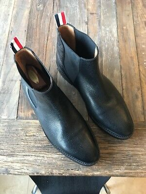 b18dd8e1987 Like us on Facebook · Thom Browne Mens Pebbled Leather Chelsea Boot Size  10US/EU 44.5 $1,285.00 Retail