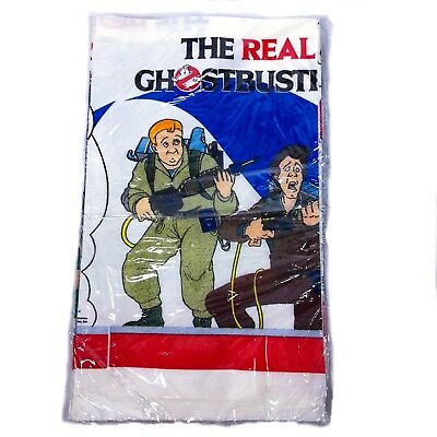 New Vintage The Real Ghostbusters Tablecloth 1986 80s Party Decorations Sealed