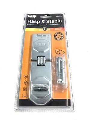 Kasp 230 Series Universal Hasp & Staple 155mm K230155D
