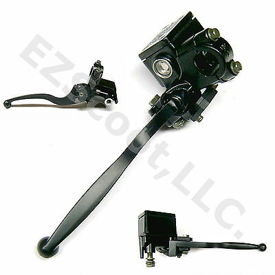 Hydraulic Brake Master Cylinder Left Lever Gy6 Scooter Moped Vip Znen Jinlun Jcl