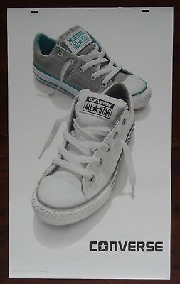 Converse All Star Shoes Advertising Large! 24 x 40 Thick Poster Board Signage