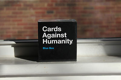 Cards Against Humanity: Blue Box 1st 2nd 3rd Expansion Combined Party Game Play