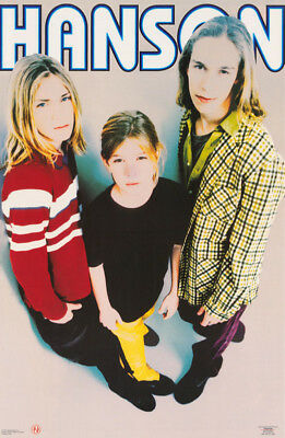 POSTER:MUSIC : HANSON - WHERE'S THE LOVE  - FREE SHIPPING   #002  RW18 i