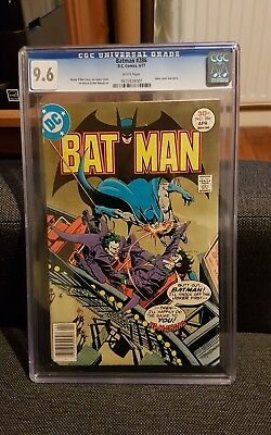 Batman 286 cgc 9.6 Classic Batman cover