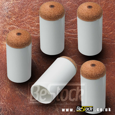 Push On Leather Cue Tips Snooker Pool - 11 11.5 12 12.5 13 13.5 14 mm ALL SIZES