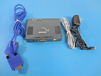 Iridium Satellite Fax Module FX2600 with Cables and Power Supply
