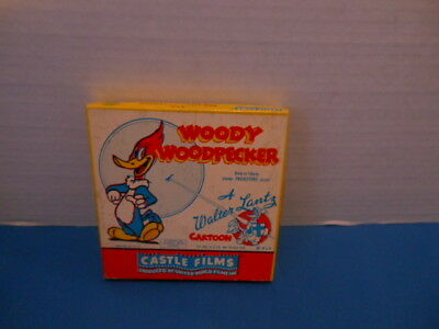 "Vintage 8mm Castle Films Movie WOODY WOODPECKER ""The Loan Stranger"" #455"