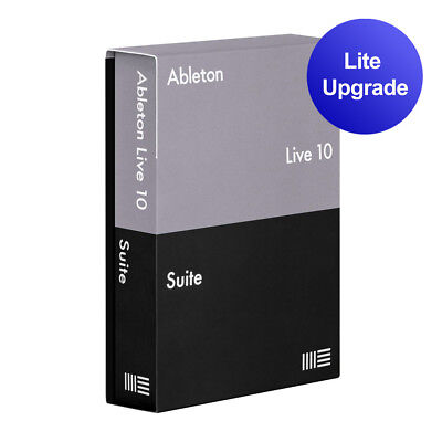 Ableton Live 10 Suite Upgrade License From Live 10 Lite DAW Music Software