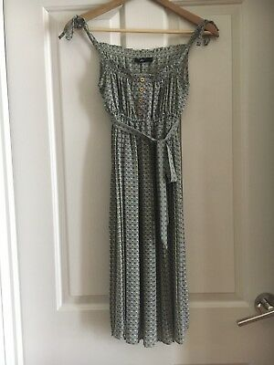 SPORTSGIRL Size 6 Vintage collection dress with tie sleeves and waist