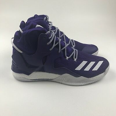 91513c9b4 New Men s ADIDAS D ROSE 7 NBA Charlotte Hornets - B38927 - Basketball Shoe  Sz 16