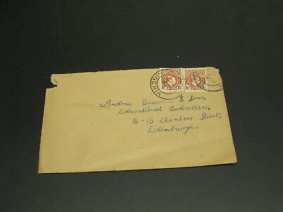 Nigeria 1946 cover to UK faults *2843
