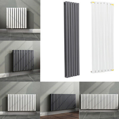 Single Double Radiator Tall Upright Oval Column Panel Central Heating Rail Rads