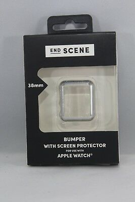 End Scene 38mm Apple Watch Bumper With Screen Protector