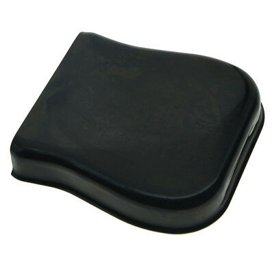 KAISH Vintage Ashtray Tele Bridge Cover Protector for Fender Telecaster Black