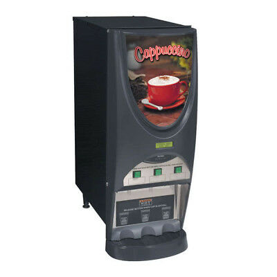 Bunn IMIX-3S 3 Flavor Commercial Cappuccino Machine SHIPPING AVAILABLE IN US
