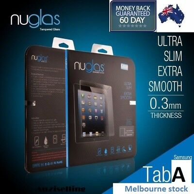 "Genuine Nuglas Tempered Glass Screen Protector for Samsung Galaxy Tab A 8.0""2017"