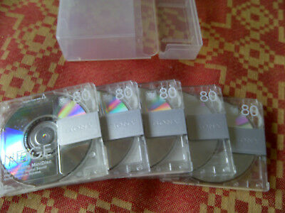 5 MD SONY Neige 80 in Slimbox MInidisc (7) Japan