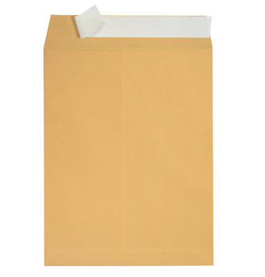 C4/A4 Plain Brown Manilla Strong Self Seal Quality Envelopes SS 90 gsm UK