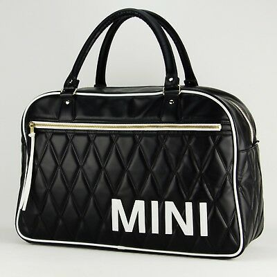 original mini cooper bmw weekender bag tasche schwarz. Black Bedroom Furniture Sets. Home Design Ideas