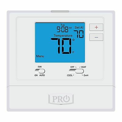 PRO1 T721 Heat Pump Non-Programmable Thermostat 2 Heat 1 Cool Tstat