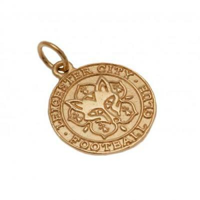 Leicester City F.C. 9ct Gold Pendant