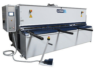 New UZMA 3000mm x 6mm NC Metal guillotine