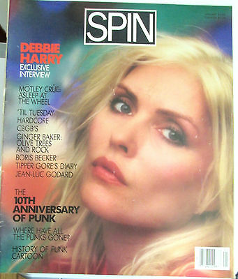 Debbie Harry - Spin Magazine Full Issue - Jan 1986
