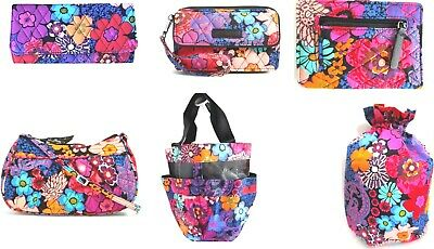 Nwt Vera Bradley Floral Fiesta Collection - Choose One Or More -Free Shipping -